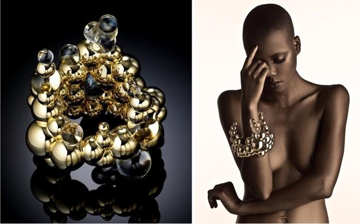 Яркие и удивительные работы от ювелира-дизайнера из Южной Африки