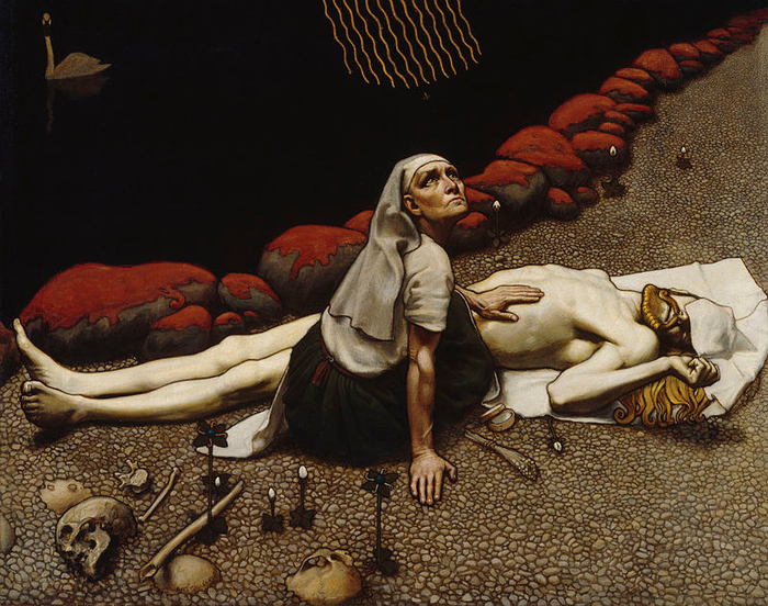 05-Gallen_Kallela_Lemminkainens_Mother (700x552, 485Kb)