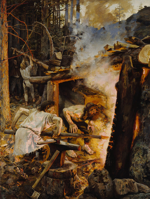 07-Gallen_Kallela_The_Forging_of_the_Sampo (527x700, 570Kb)