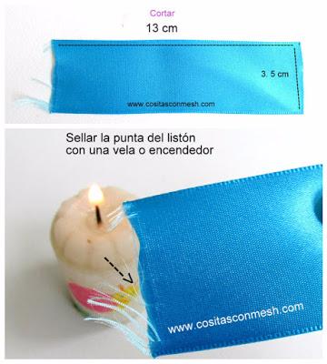 Бантики из лент - аксессуары для волос своими руками (5) (360x400, 145Kb)