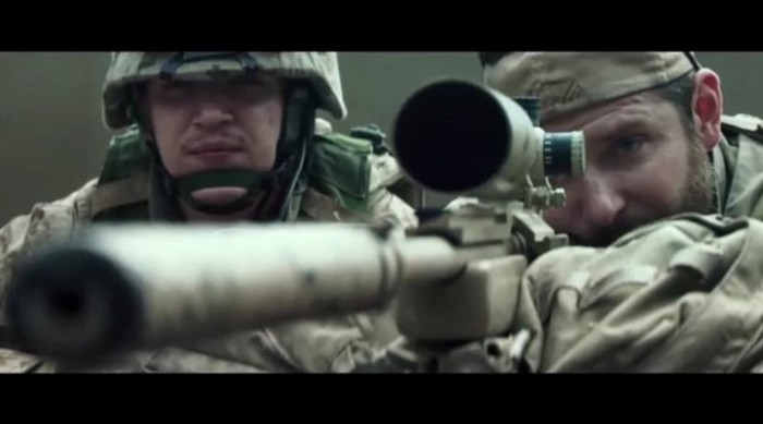 Трейлер фильма «Американский снайпер»