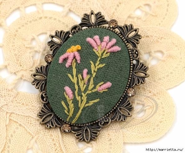 Украшения ручной работы с вышивкой. Для вдохновения (14) (594x492, 244Kb)