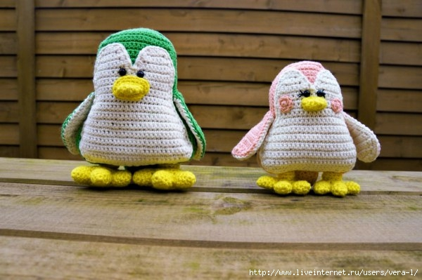 вязаные пингвины самое интересное в блогах