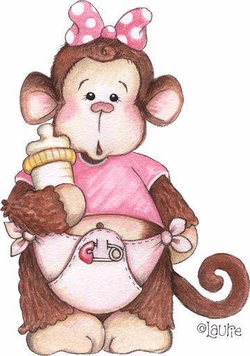 Прикольная обезьянка рисунок, картинки листьев открытки