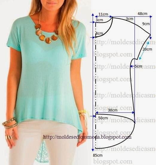 9b1e7be0ba7 выкройки летних блузок - Самое интересное в блогах