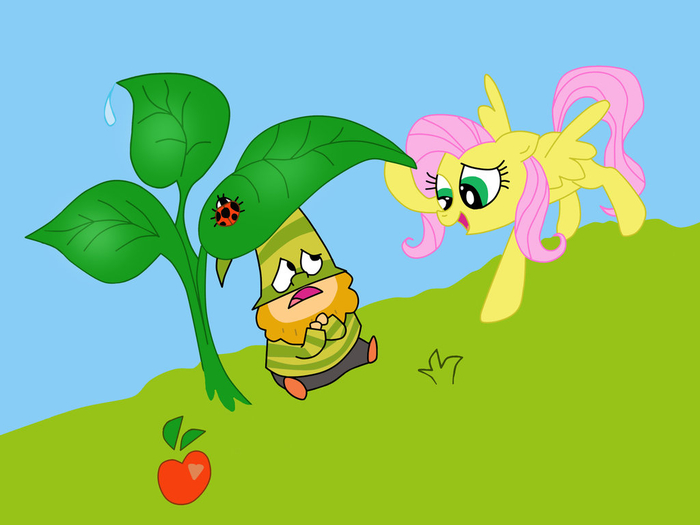 bashful__and__fluttershy_by_heinousflame-d830d3p (700x525, 190Kb)