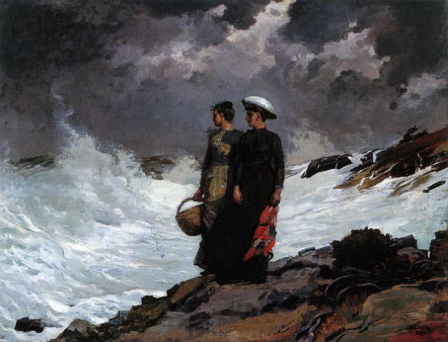 Watching the Breakers, 1891 (642x490, 368Kb)