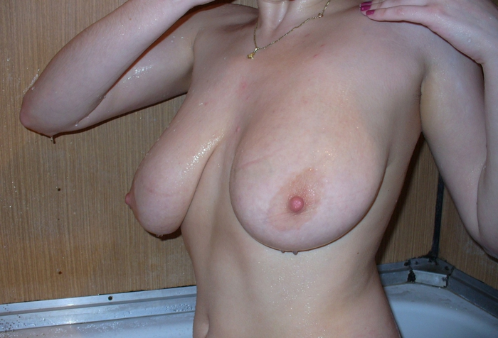 присланное фото висячей груди тут