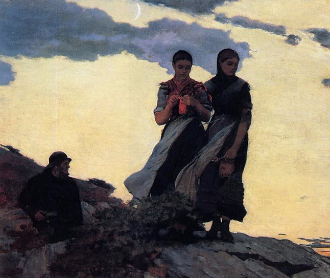 Early Evening, 1881-1907 (646x543, 309Kb)