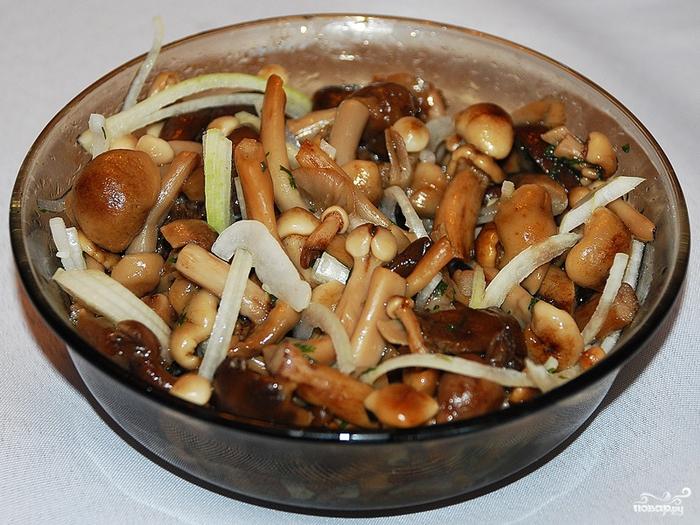 Блюда из грибов опята рецепты