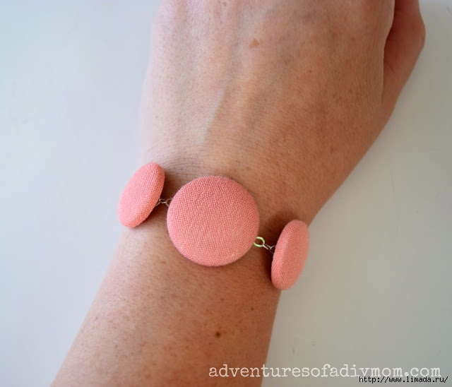 Fabric Covered Button Bracelet 1 (640x548, 130Kb)