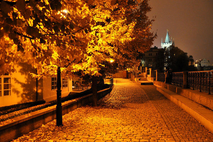 Прага осень загрузить