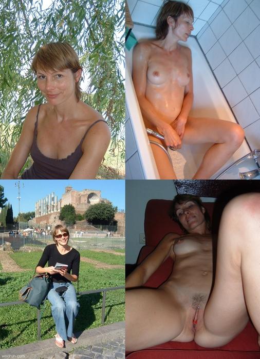 Amateur tiny tits casting