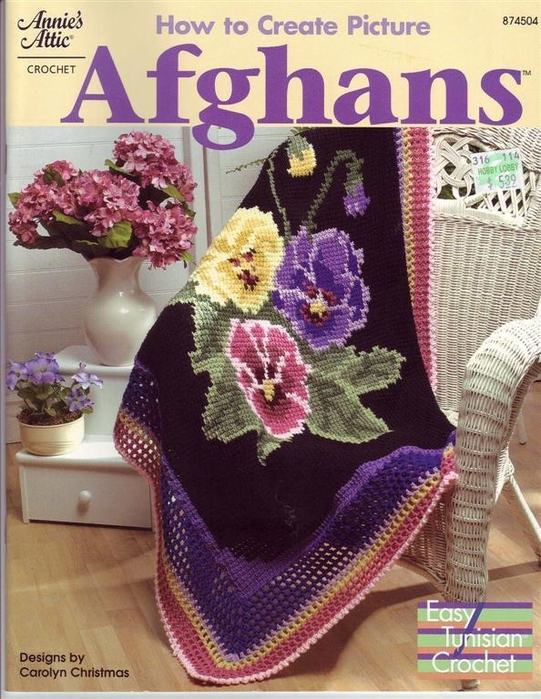 How to Create Picture Afghans FC (541x700, 320Kb)