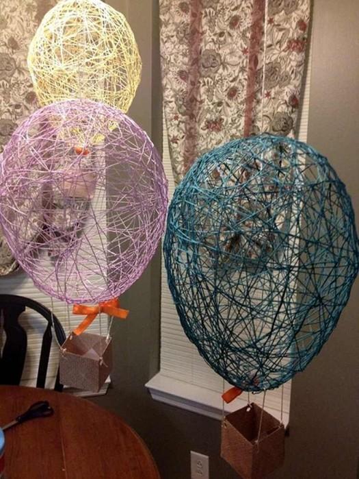 Как можно преобразить интерьер воздушными шариками