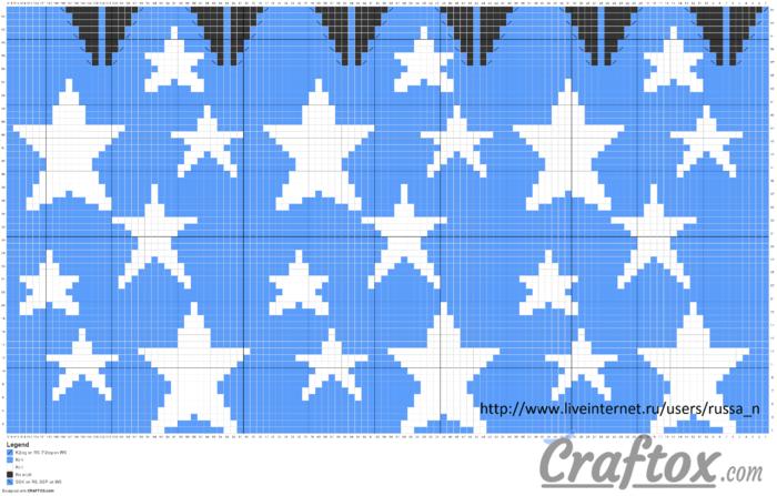 pattern-chart-1-slouchy-beanie-with-stars-jacquard-knitting-pattern (700x447, 201Kb)