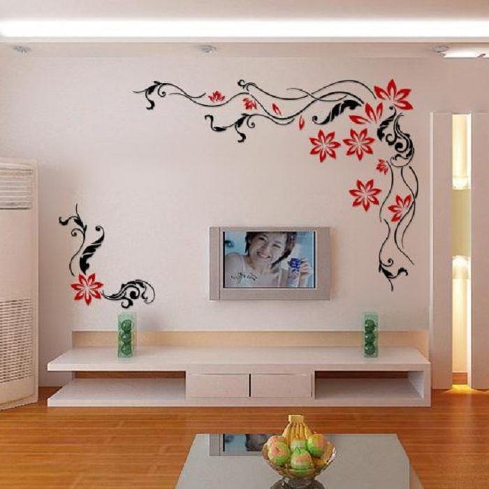 Рисунок на стену в комнате