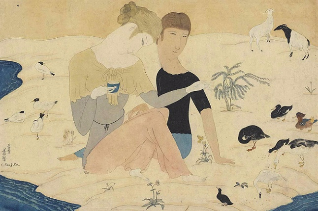 + Young Couple and Animals, 1917 (646x430, 270Kb)