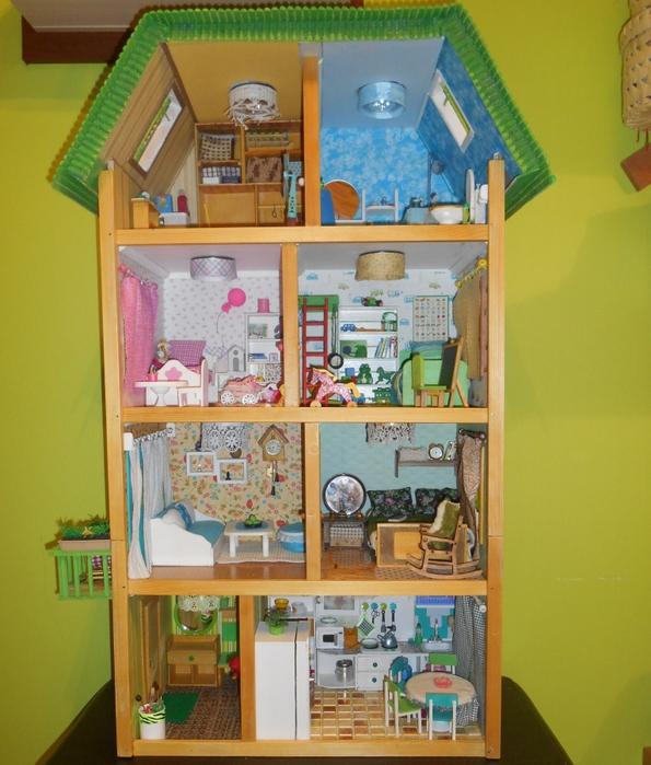 Мебель для кукольного домика своими руками 218