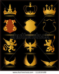 Превью stock-vector-collection-heraldic-gold-elements-on-black-background-vector-111830588 (377x470, 152Kb)