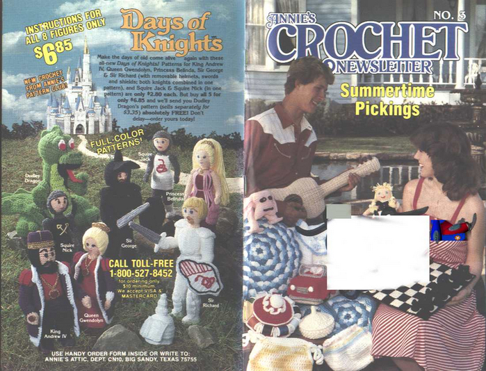 Annies Crochet Newsletter #3 May-June-1983 FC-BC (700x534, 473Kb)