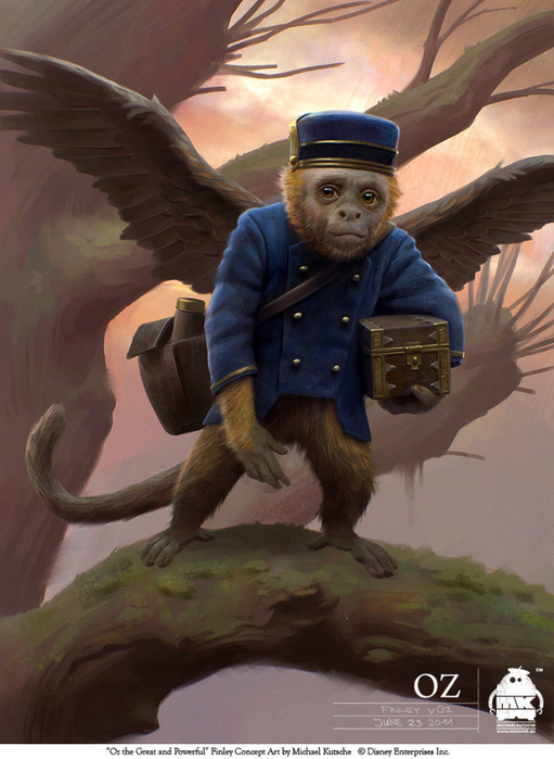 oz_the_great_and_powerful___finley_by_michaelkutsche-d5xh3rl (511x700, 373Kb)