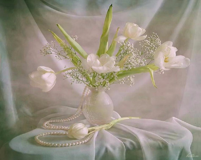Матери, картинки коллаж гифки блестяшки лилии и жемчуг