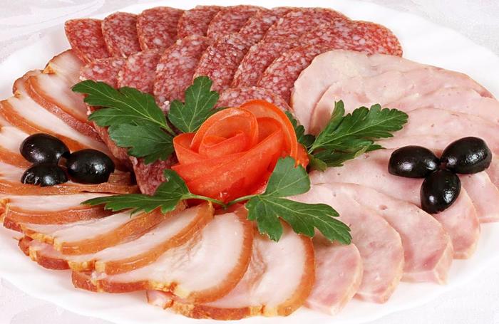 мясная нарезка на праздничный стол самое интересное в блогах