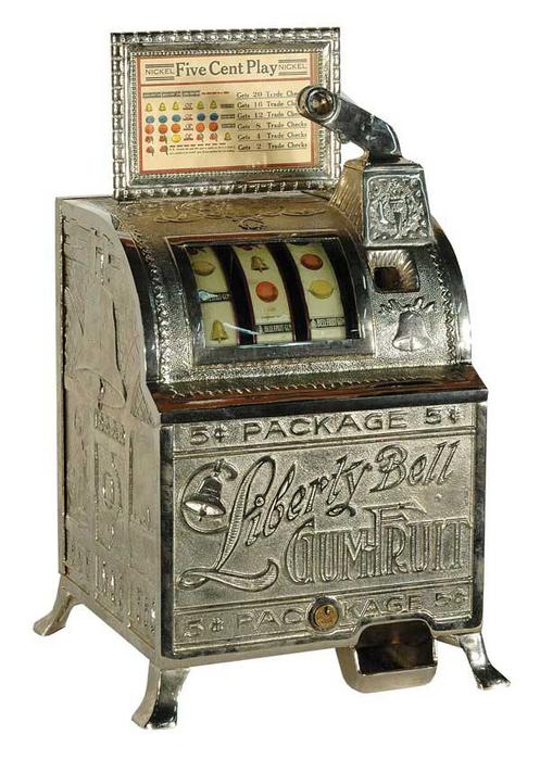Slot machine liberty bell
