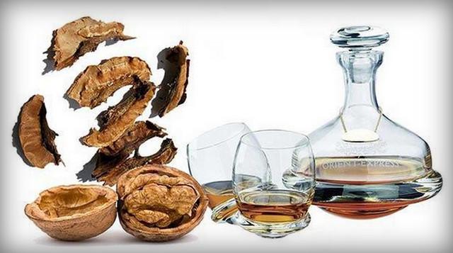 Целебные свойства перегородок грецких орехов