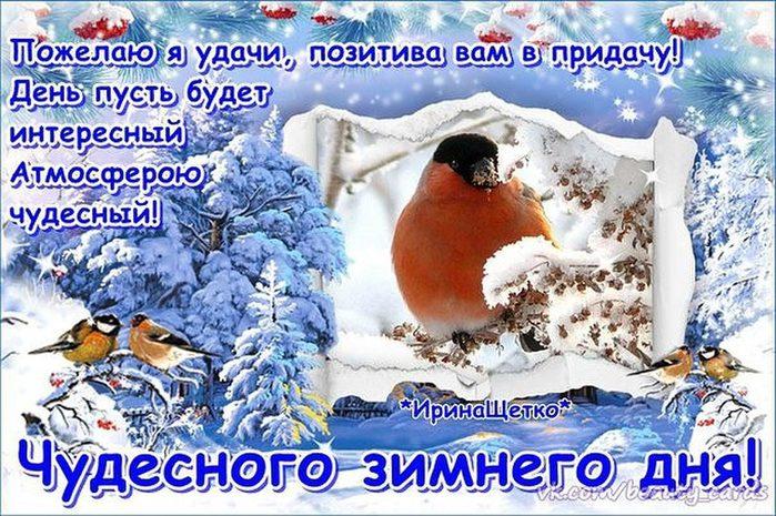 Открытки с чудесным днем зимних