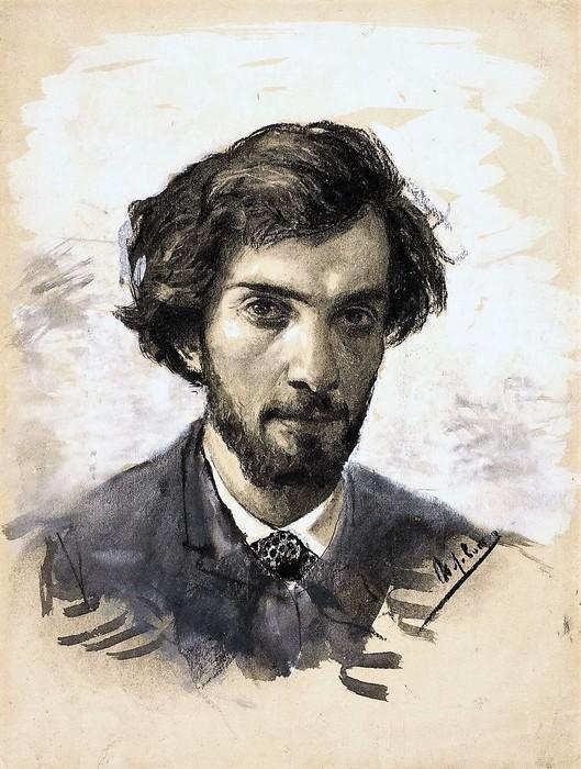Исаак Левитан. Автопортрет, 1885. Третьяковская галерея (529x700, 118Kb)