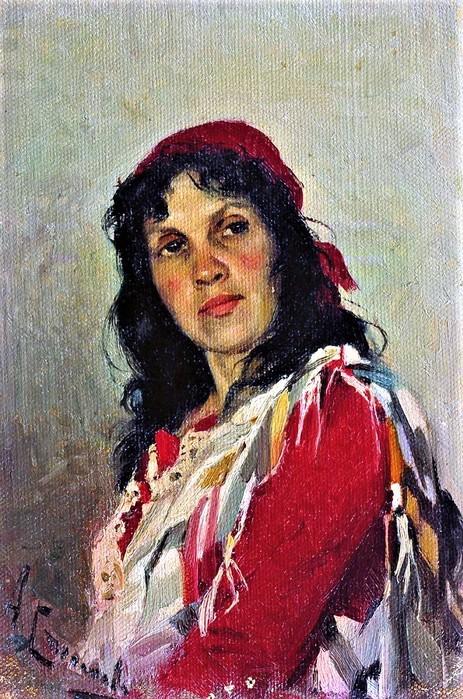 Алексей Степанович Степанов Портрет С.П.Кувшинниковой 1889 (463x700, 160Kb)