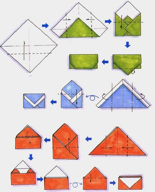 Открытке коллег, как сделать конверт для открыток