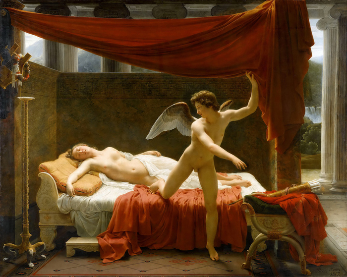 Fran?ois Edouard  Picot   (1786-1868)- Amor and Psyche  1819 (700x559, 220Kb)