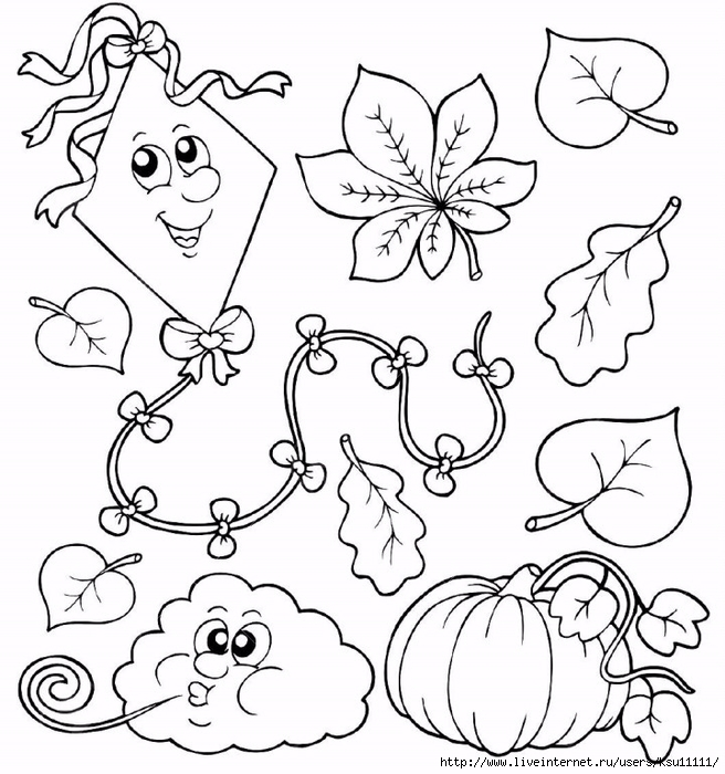 8145351-Coloring-book-with-autumn-theme-illustration--Stock-Vector (656x700, 287Kb)