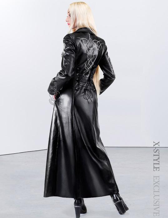 Женское длинное кожаное пальто 3634871 dlinnoekozhanoepaltovyshivkazima2521  (538x700 f9da12530a4b4
