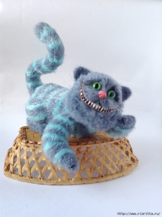 вязаный чеширский кот обсуждение на Liveinternet российский