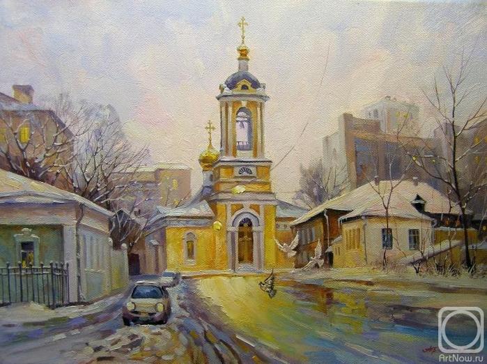 Москва. Большой Предтеченский переулок (700x522, 316Kb)