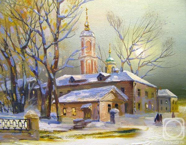Москва. Потаповский переулок (600x469, 200Kb)