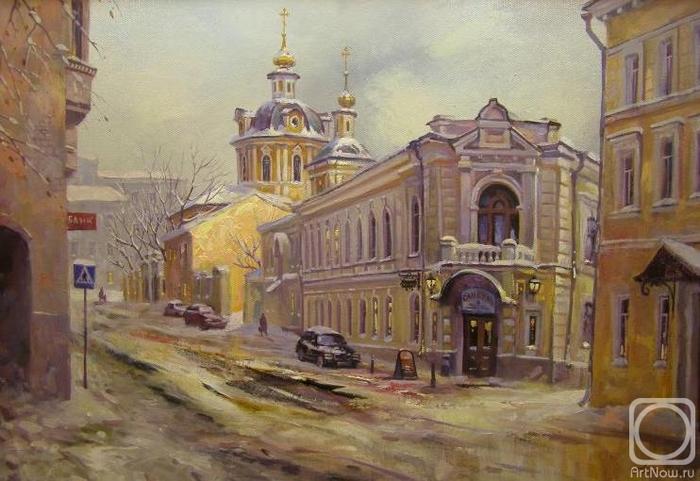 Москва. Звонарский переулок (700x481, 245Kb)