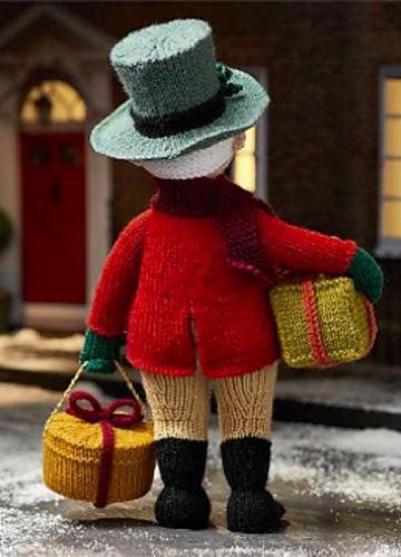Вязаные игрушки от Алана Дарта. Дедушка Jolly (3) (360x500, 317Kb)