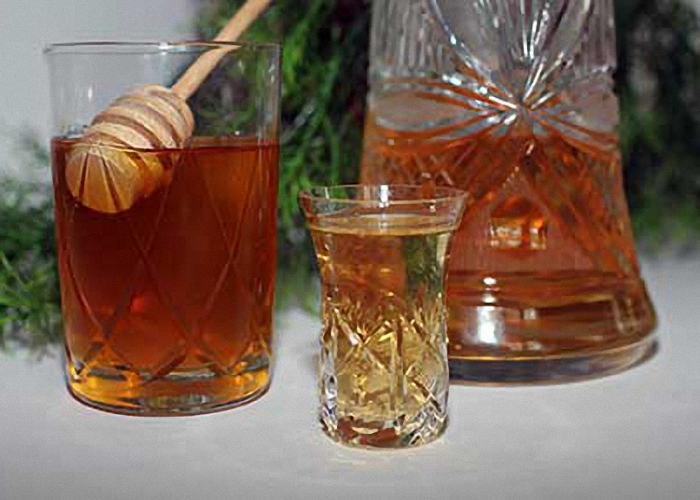 Водка с медом вред