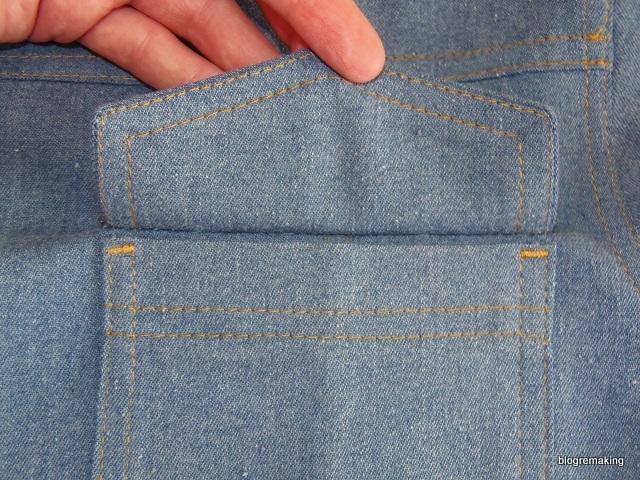 20e621b2d33 Накладной карман с клапаном  технология обработки