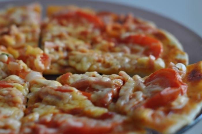 пицца в аэрогриле с фото пошагово
