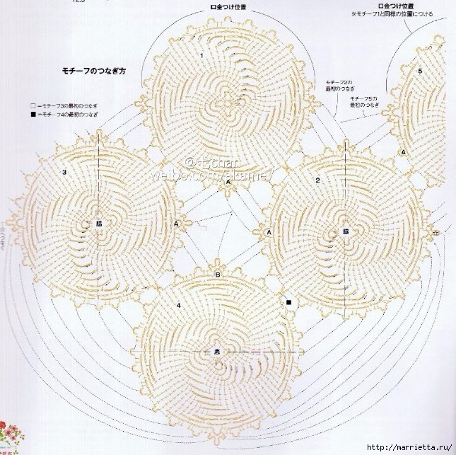 Кошелек-косметичка крючком для имеющегося фермуара (4) (645x643, 371Kb)