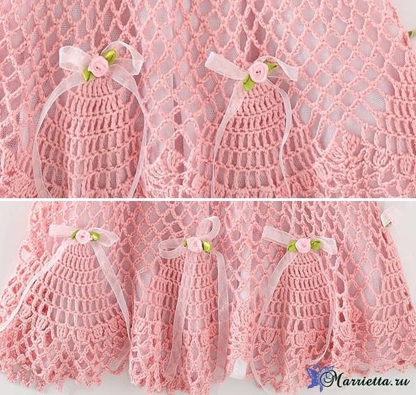 Нарядное платьице крючком для маленькой принцессы (1) (598x568, 465Kb)