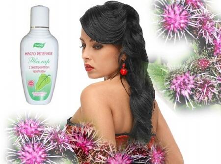 репейное масло от выпадения волос - Самое интересное в блогах