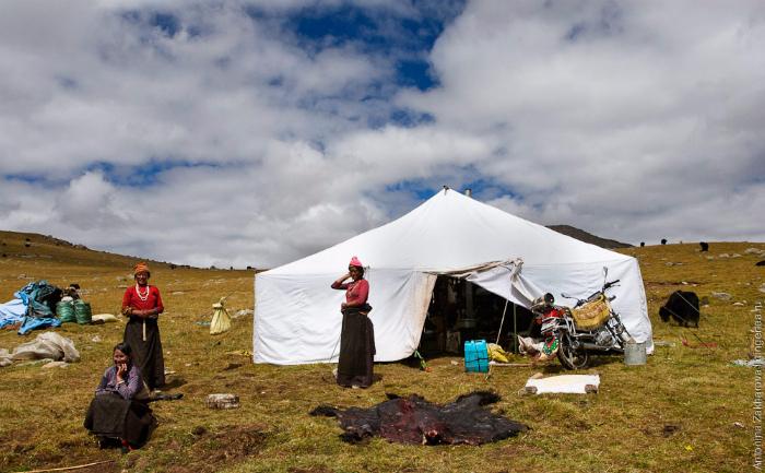 Секс в юртах тибета
