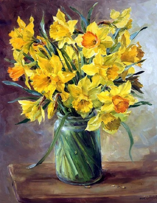 Daffodils Anne Cotteril (541x700, 148Kb)